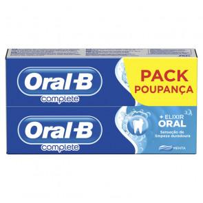 Oral-B Lote COMPLETE DENTÍFRICO ENJUAGUE + BLANQUEANTE Set de cuidado bucal