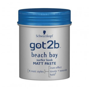 Schwarzkopf GOT2B BEACH BOY Matt Paste Sufer Look 100 ml
