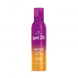 Schwarzkopf GOT2B TWISTED Double Curling Power Mousse 250 ml
