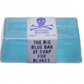 The Bluebeards Revenge For Men Body Big Blue Bar of Soap for Blokes 175 g