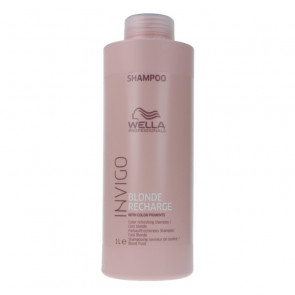 Wella Invigo Blonde Recharge Color Refreshing Shampoo 1000 ml