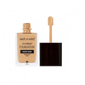 Wet N Wild Photofocus Foundation - E372C Desert Beige 30 ml