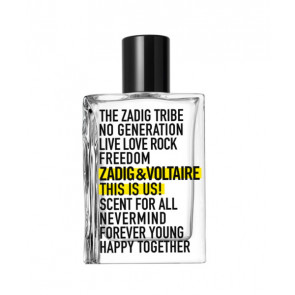 Zadig & Voltaire THIS IS US! Eau de toilette 50 ml