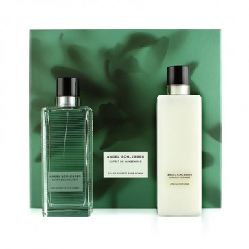 Angel Schlesser Lote ESPRIT DE GINGEMBRE HOMME Eau de toilette Vaporizador 100 ml + Aftershave bálsamo 200 ml