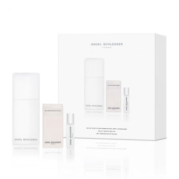 Angel Schlesser Lote FEMME Eau de toilette Vaporizador 100 ml + Gel de baño 75 ml + Desodorante roll-on