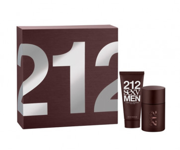 Carolina Herrera Lote 212 SEXY MEN Eau de toilette Vaporizador 50 ml + Gel de baño 100 ml