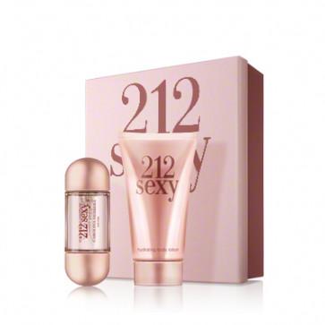 Carolina Herrera Lote 212 SEXY Eau de parfum Vaporizador 60 ml + Loción corporal 100 ml