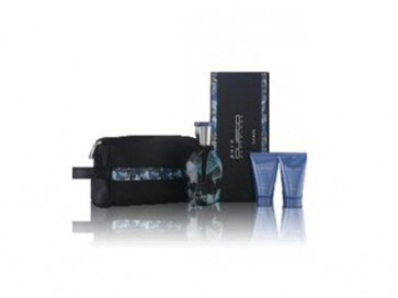 Custo Lote PURE CUSTO MAN Eau de toilette Vaporizador 100 ml + After shave bálsamo 30 ml + Gel de Ducha 30 ml + Neceser