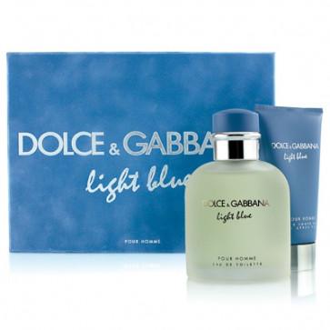 Dolce & Gabbana Lote LIGHT BLUE POUR HOMME Eau de toilette Vaporizador 125 ml + After shave bálsamo 75 ml