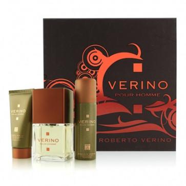 Roberto Verino Lote VERINO POUR HOMME Eau de toilette Vaporizador 100 ml + Gel 50 ml + After shave bálsamo 50 ml