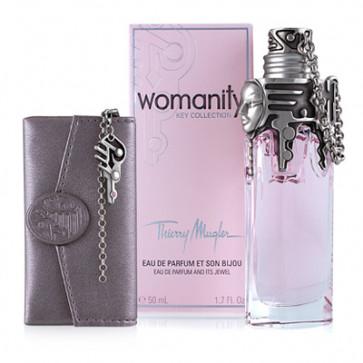 Thierry Mugler Lote WOMANITY Eau de parfum Vaporizador 50 ml + monedero