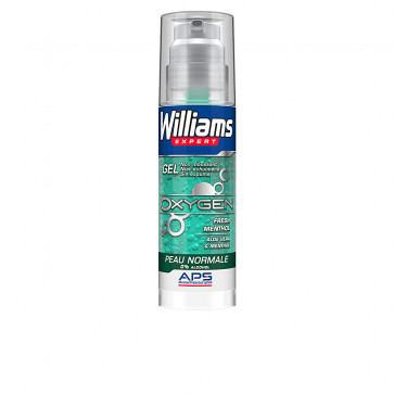 Williams EXPERT OXYGEN 0% Alcohol Gel Afeitar Piel Normal