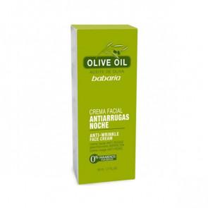 Babaria OLIVE OIL Gesichtscreme Antifalten Nacht 50 ml