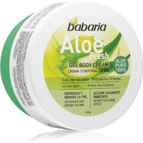 Babaria Aloe Fresh Gel Body Cream Gel corporal 400 ml