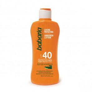 Babaria Leche protectora SPF40 Aloe Vera 200 ml
