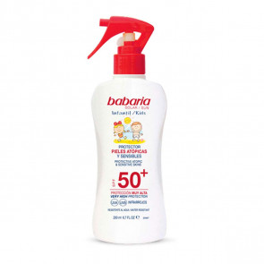 Babaria Spray SPF50+ Pieles Atópicas y Sensibles 200 ml