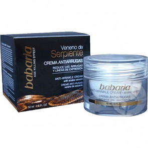 Babaria SNAKE VENOM Anti-Wrinkle Cream 50 ml