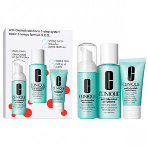Clinique Set ANTI-BLEMISH Anti-Blemish-Lösungen 3-stufiges System