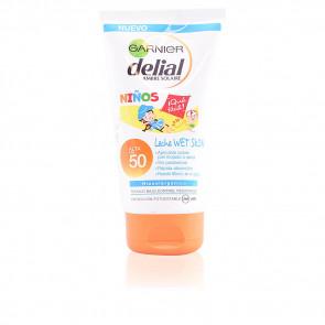 Garnier Delial Niños Sensitive Advanced Leche Wet Skin SPF50 150 ml