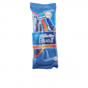 Gillette BLUE II PLUS Cuchilla de afeitar Desechable 5 u