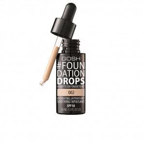 Gosh Foundation Drops Hydrating SPF10 - 002 Ivory 30 ml