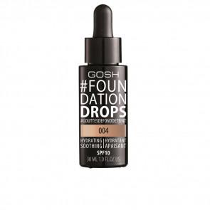 Gosh Foundation Drops Hydrating SPF10 - 004 Natural 30 ml