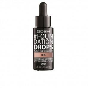Gosh Foundation Drops Hydrating SPF10 - 006 Tawney 30 ml