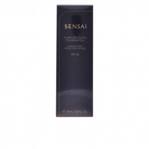 Kanebo SENSAI Flawless Satin Foundation 206 Brown Beige 30 ml