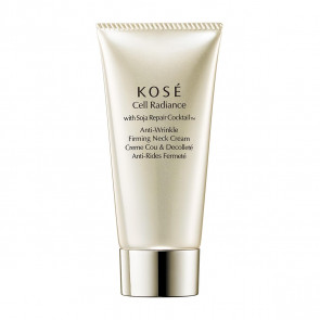 Kosé CELL RADIANCE Anti-Wrinkle Firming Neck Cream 75 ml