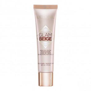 L'Oréal Glam Beige Healthy Glow Foundation - 40 Medium Dark