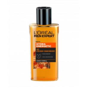 L'Oréal MEN EXPERT HYDRA ENERGETIC 2 EN 1 AFTERSHAVE + CUIDADO HIDRATANTE Aftershave loción 125 ml