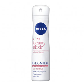 Nivea MILK BEAUTY ELIXIR SENSITIVE Desodorante spray 150 ml
