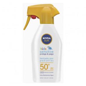 Nivea SUN NIÑOS PROTEGE&JUEGA Sensitive SPF50+ Spray 300 ml
