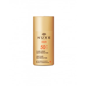 Nuxe Nuxe Sun Fluide Léger Haute Protection SPF50 50 ml