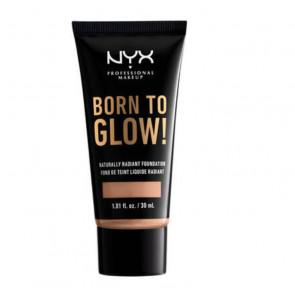 NYX Born to Glow! Naturally Radiant Foundation - Soft beige 30 ml