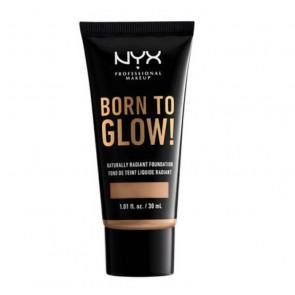 NYX Born to Glow! Naturally Radiant Foundation - Tan 30 ml