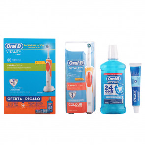 Oral-B Lote VITALITY CROSSACTION Set de cuidado bucal
