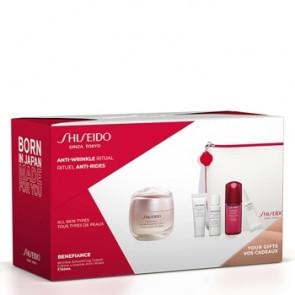Shiseido Lote BENEFIANCE SMOOTHING CREAM POUCH Set de cuidado facial