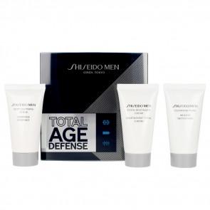 Shiseido Lote MEN TOTAL AGE DEFENSE Set de cuidado facial