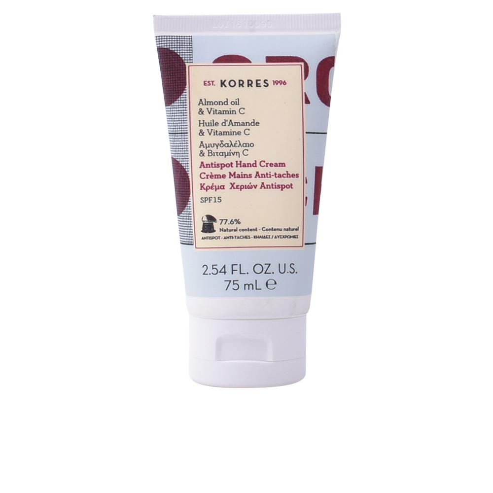 Korres Almond Oil & Vitamin C Antispot Hand Cream SPF15 75ml