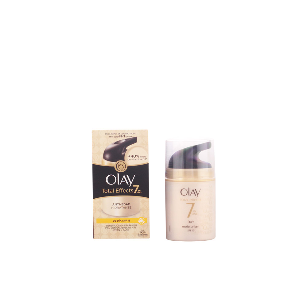 Olay Total Effects 7in1 Anti Ageing Day Moisturiser Spf15 50 Ml Serum 50ml