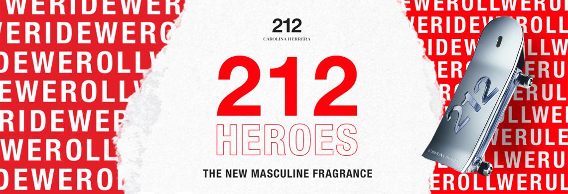212 Men Heroes Perfume