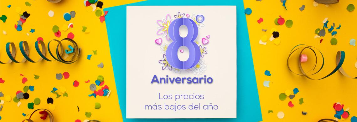 8º Aniversario con precios especiales